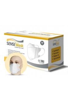 SENSI Mask Duckbill White, 50 pcs per pack