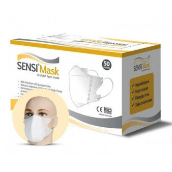 Shop Others - 10,000 Packs - SENSI Mask Duckbill White, 50 pcs per pack