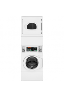 Sell New Speed Queen STGNCASP115TW01 - Quantum Gold Coin Drop Stack Washer/Dryer Gas White