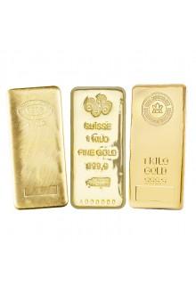 Shop 1 Kg / Kilo Credit Suisse Gold Bar