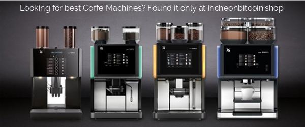 Shop Coffee Machines Banner